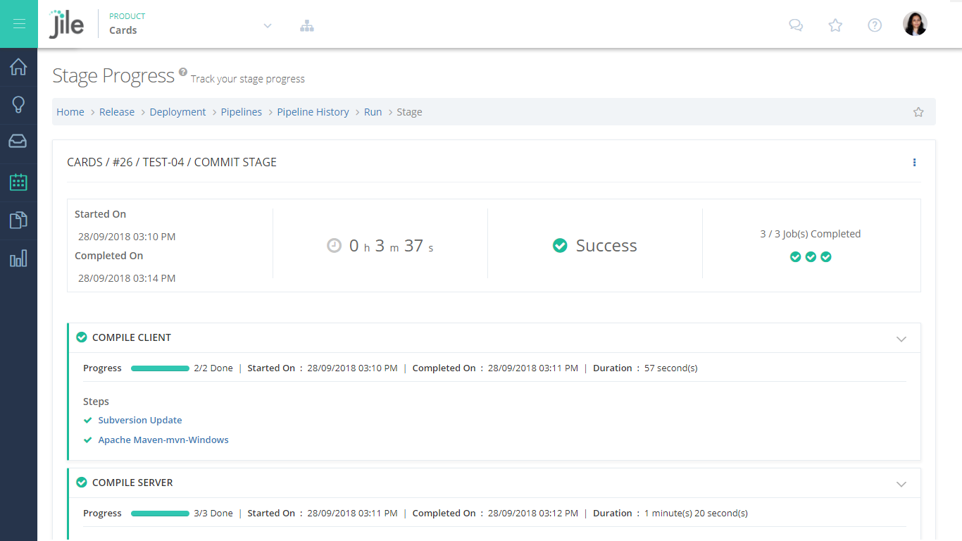 Track deployment progress, generate reports and analyse the deployment process